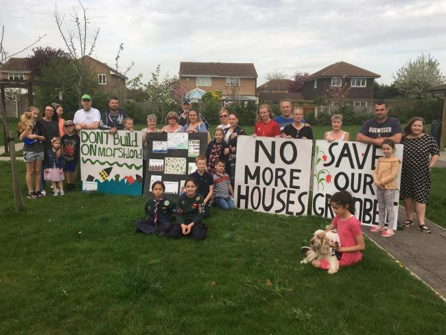 People power - the community got together to help stop a new housing estate coming to Little Thurrock's green belt