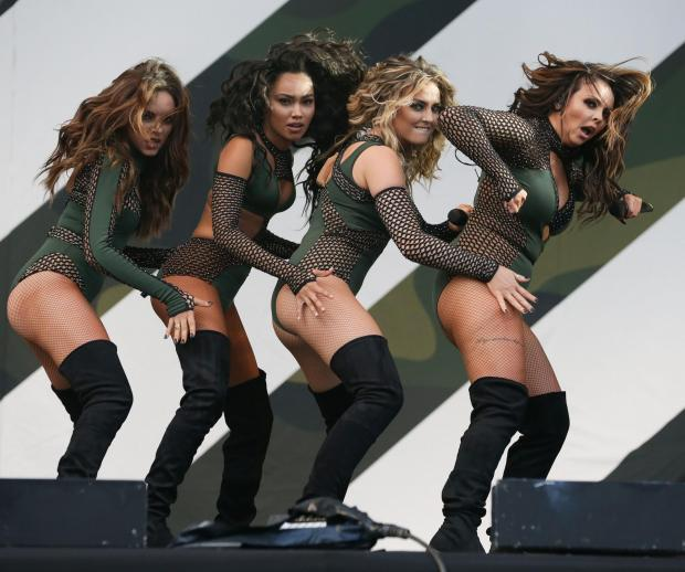 Braintree and Witham Times: Big name - Little Mix at the V Festival
