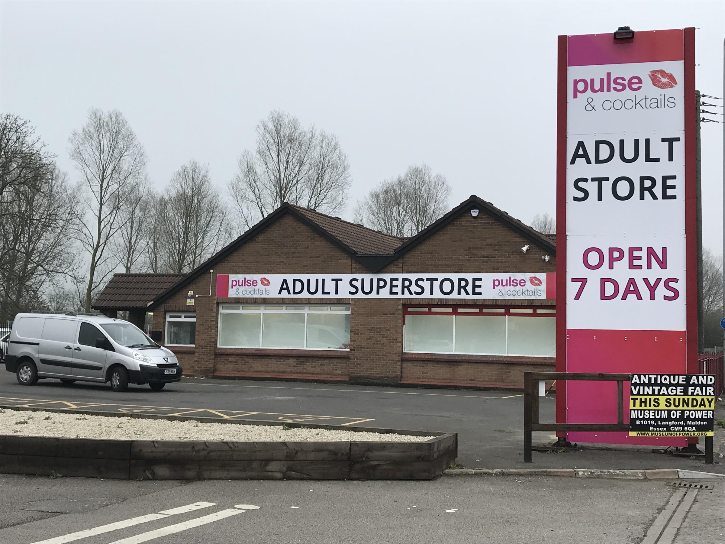 LICENCE: Pulses and Cocktails, just off the A12 near Witham, has applied for a Sex Establishment Licence