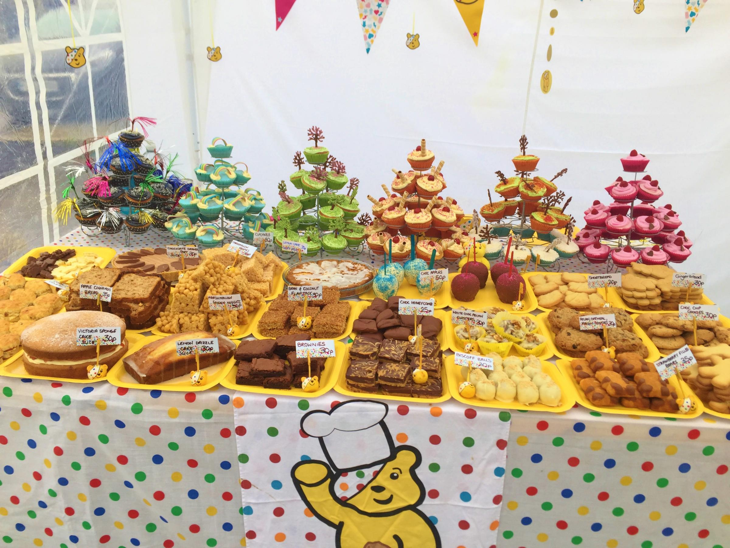 Children in Need Bake Sale