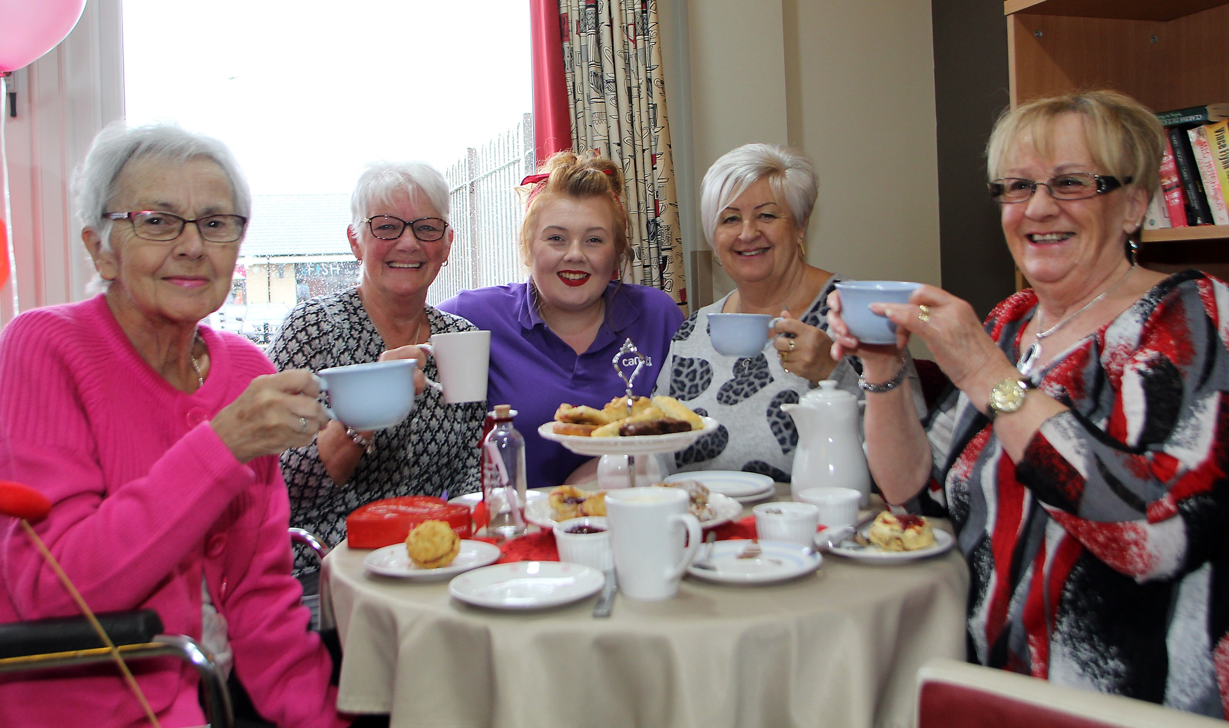 The kettle's on at Thorrington care home as it prepares to host a tasty fundraising event