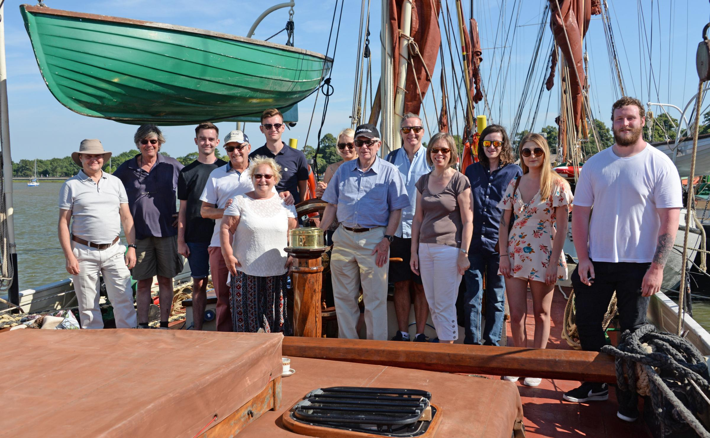 Atlantic Micowave staff were treated to a trip on the high seas to celebrate record sales