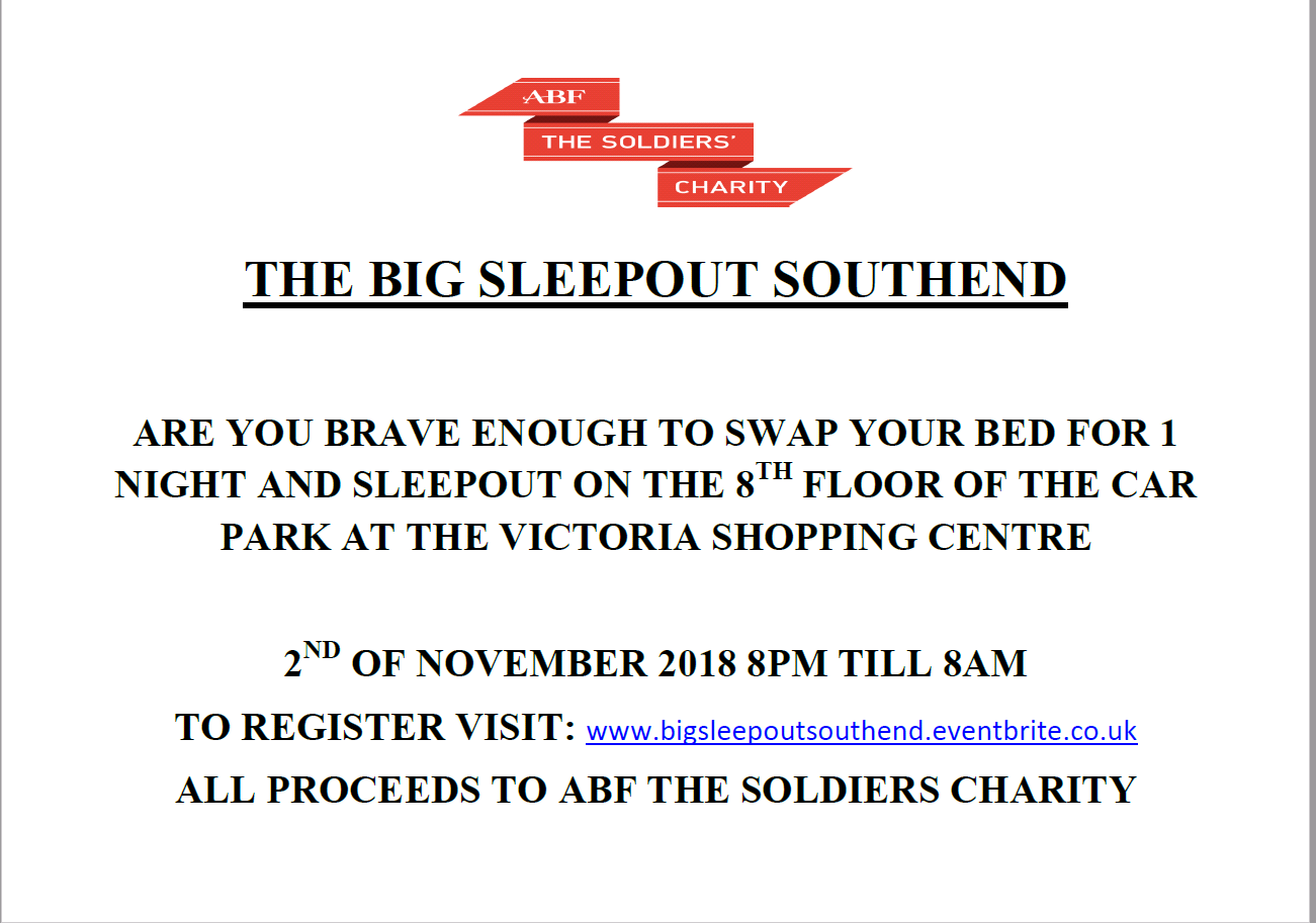 Big Sleepout Southend
