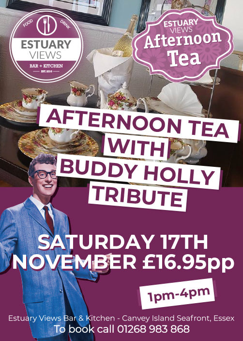 Afternoon Tea with Buddy Holly