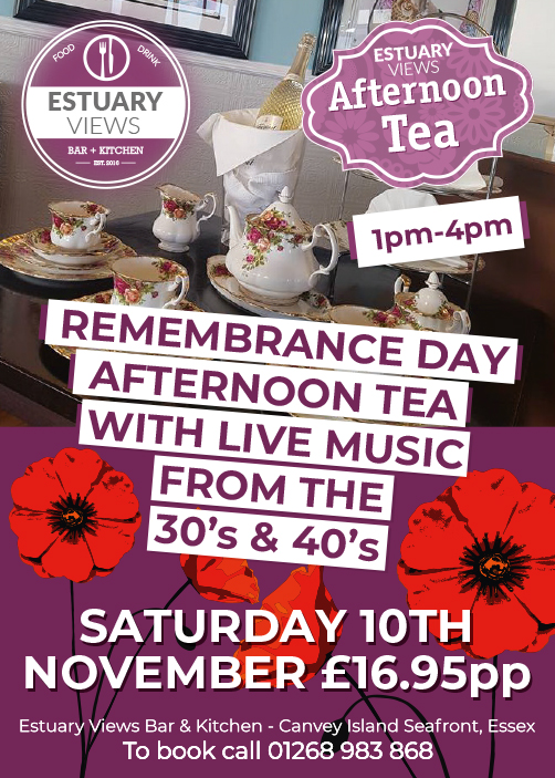 Remembrance Day Afternoon tea