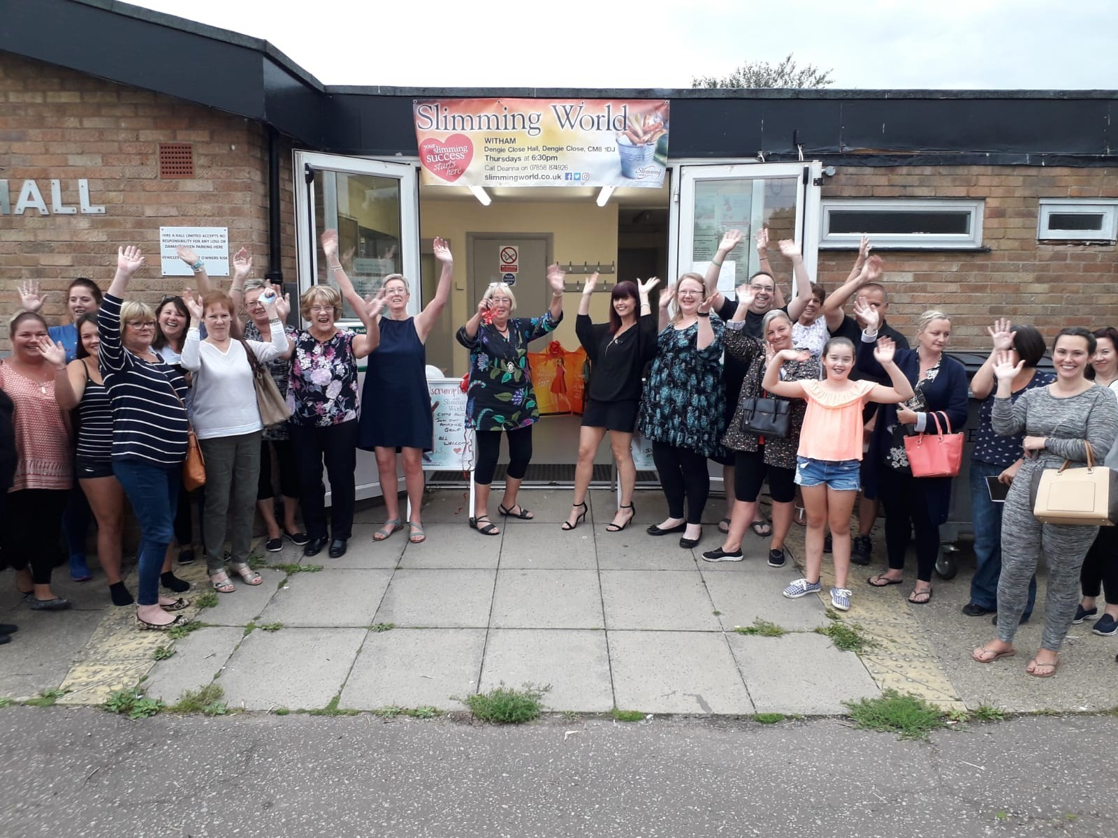 Woman sheds six stone and relaunches Slimming World group