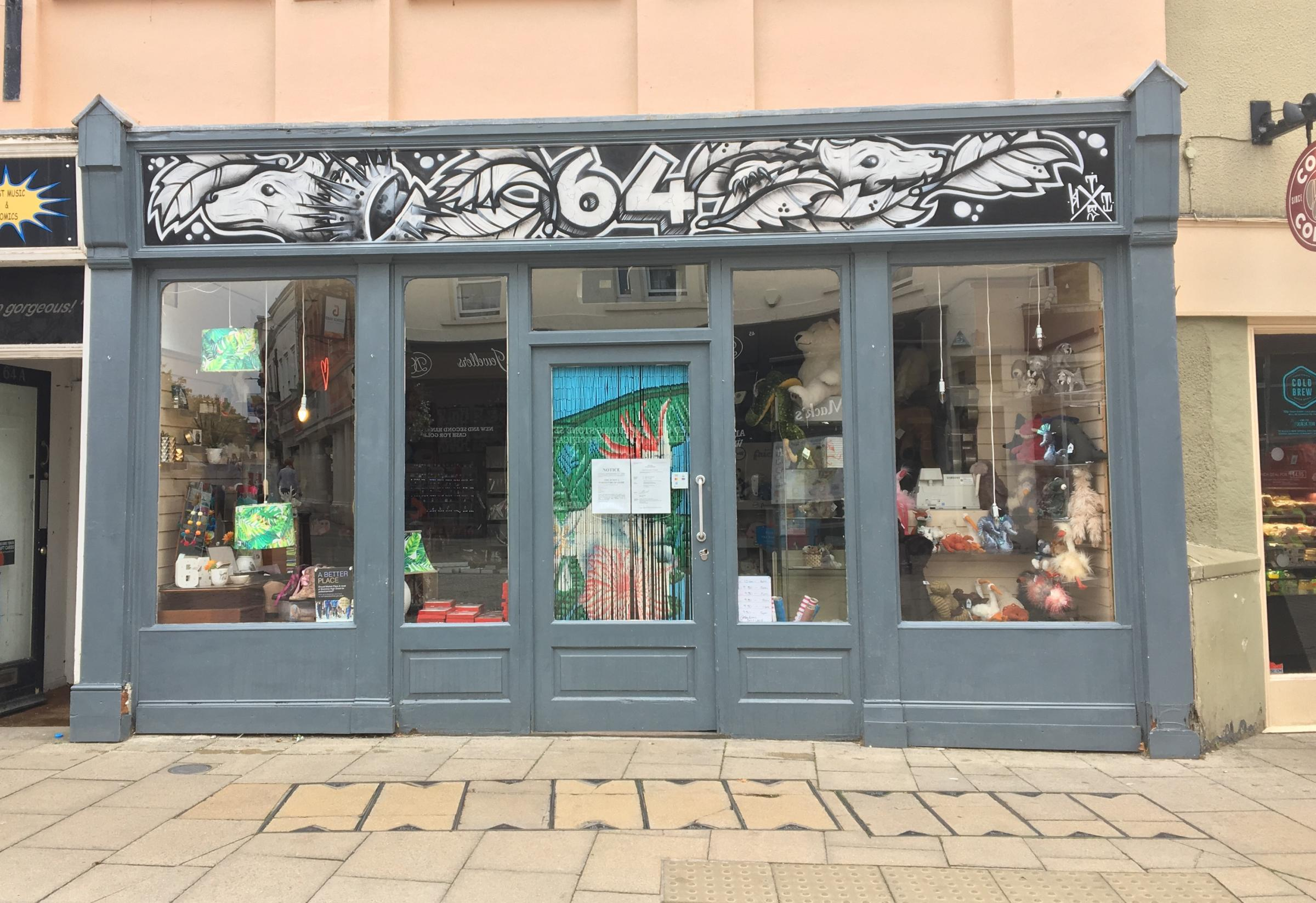 High Street shop repossessed by enforcement agents