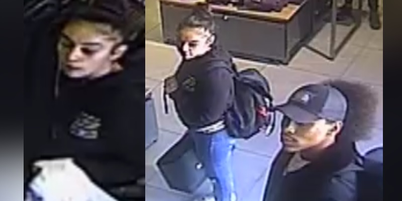 Police appeal to trace two people in connection with shoplifting