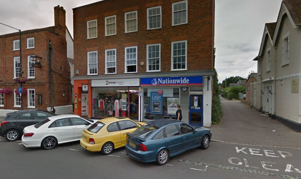Man dies after paramedics called to building society