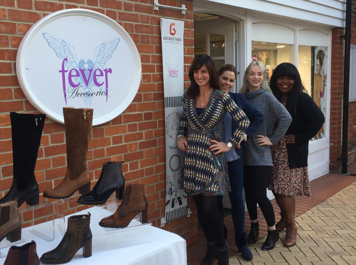 Charity: Fever Accessories will be raising cash for the Alzheimer's Society