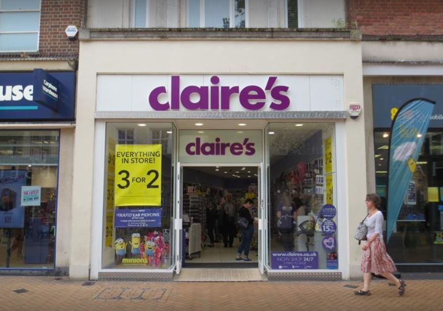 Claire's, Chelmsford