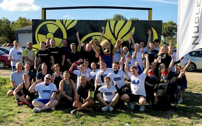 Muddy challenge raises money for cancer charity