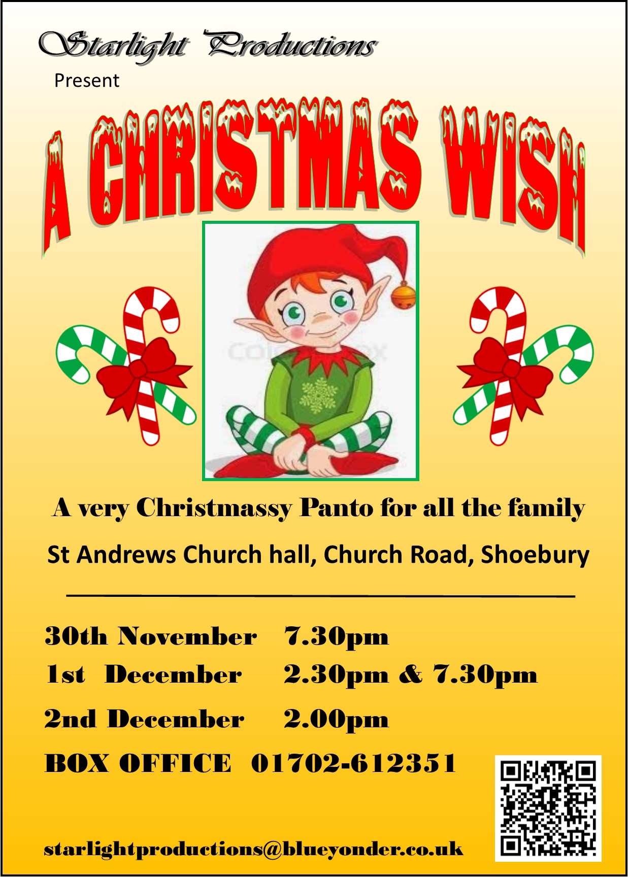 A Christmas Wish  - Pantomime