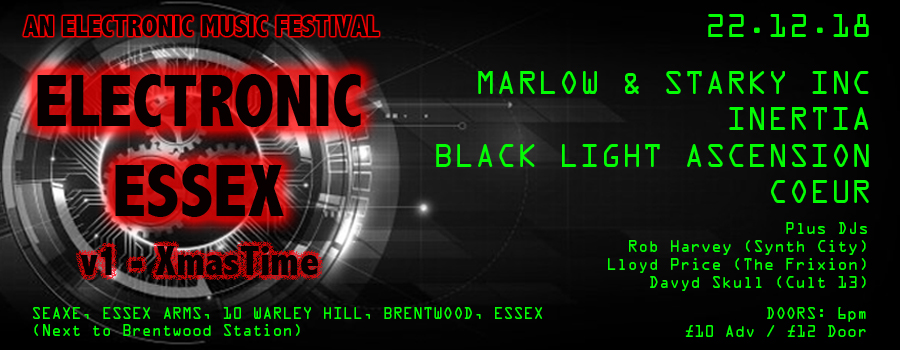 Electronic Essex - Electronic Music Festival