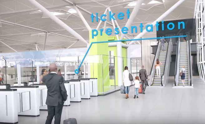 Animated plans: How Stansted will look once the work is done Image: London Stansted Airport
