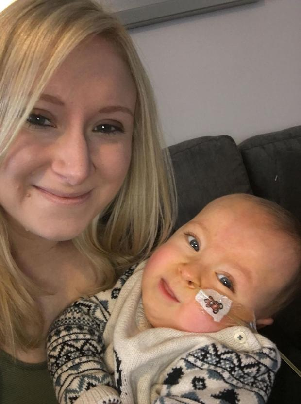 Boxers rematch in aid of baby with spinal muscular atrophy