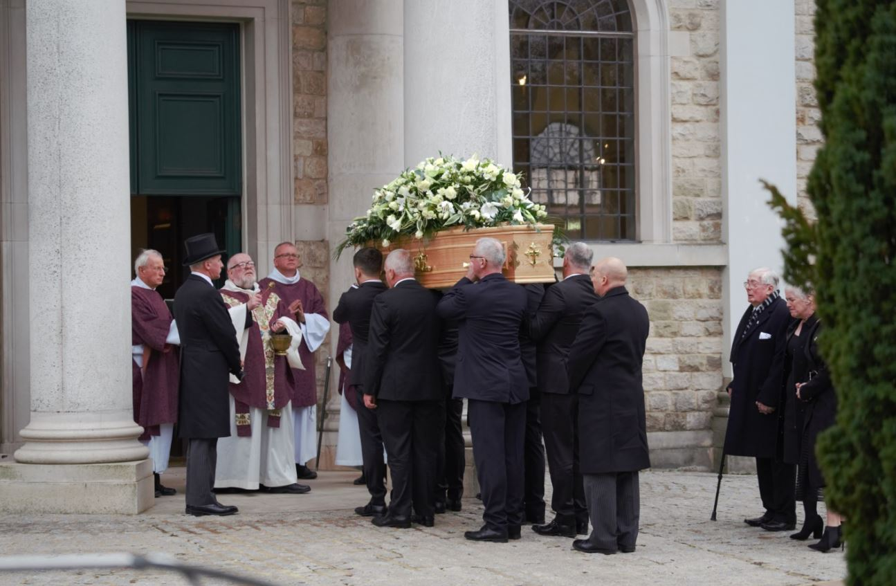 Grace Millane's funeral is taking place at Brentwood Cathedral today