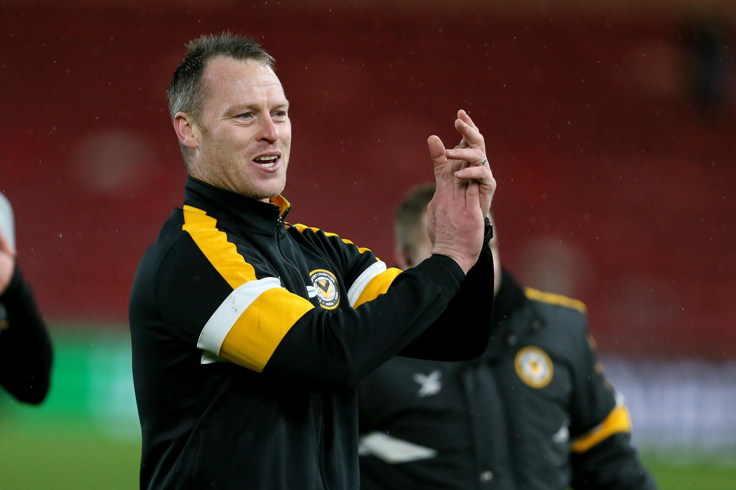 Newport manager Michael Flynn has overseen a string of fine FA Cup results against higher-level opponents