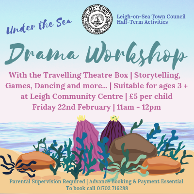 Under the Sea themed Drama Workshop