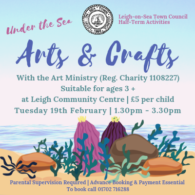 Under the Sea themed Arts & Crafts