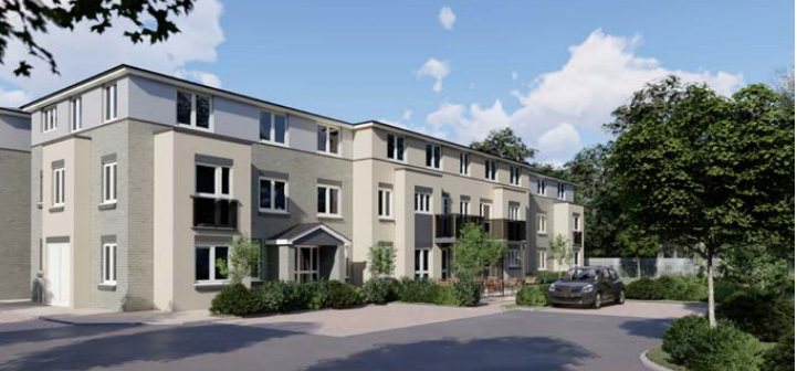 ARTISTS IMPRESSION: How the new flats will look if approved