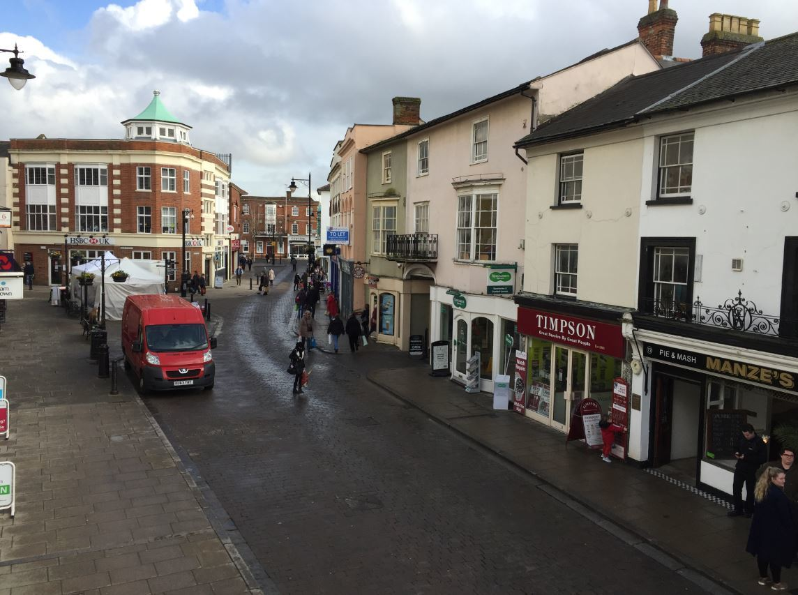 Business rates: High Street in Braintree
