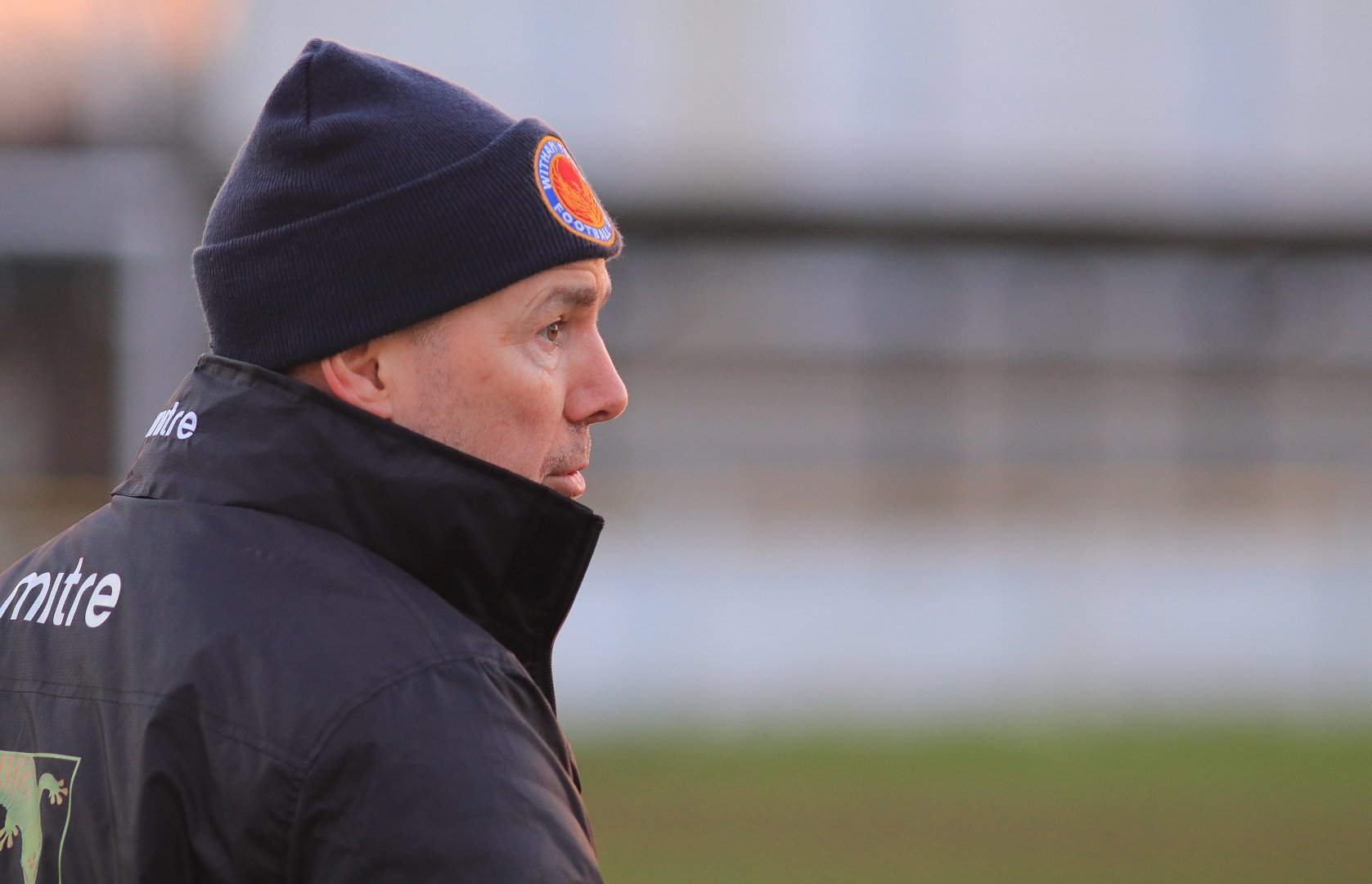 Witham Town manager Mark Ashford. Picture: Jim Purtill