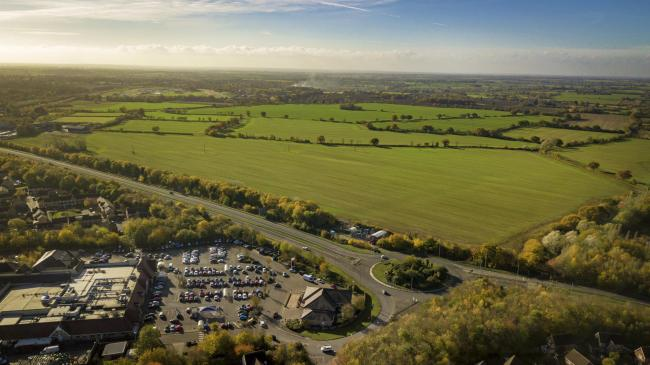 65-acre site: Braintree Council hopes its proposed Horizon 120 business park in Great Notley will create 2,000 new jobs