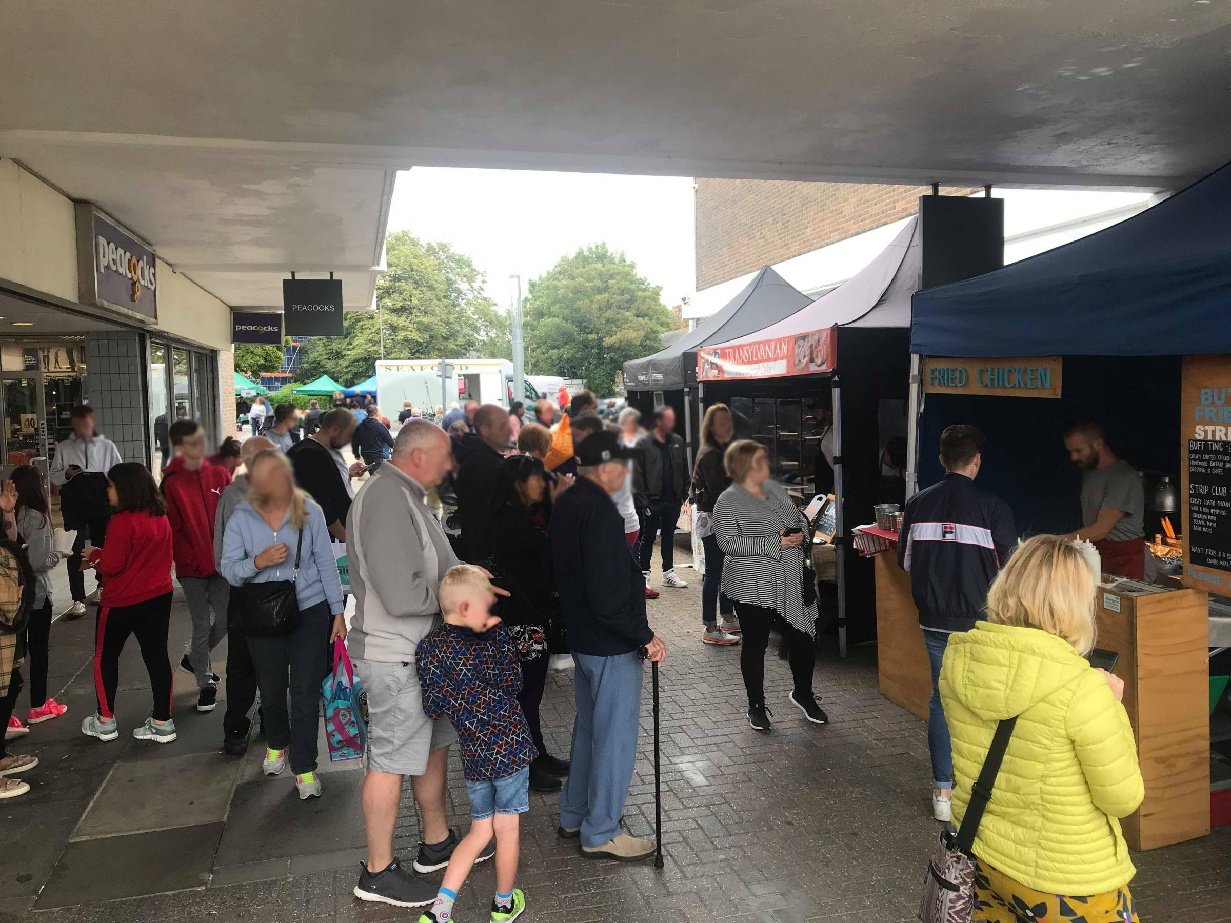 More shoppers: A view of a street market held in Witham last year