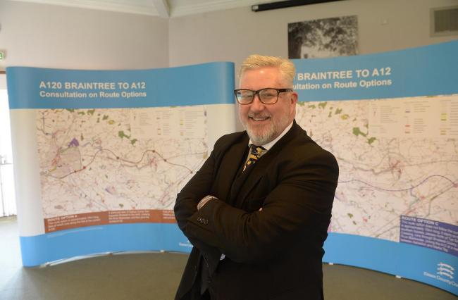 Economic boost: Councillor Kevin Bentley