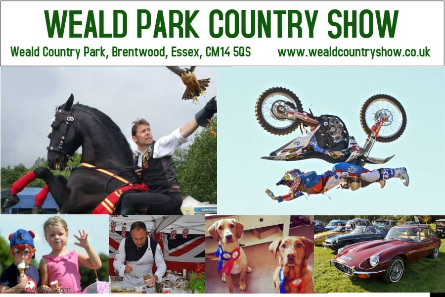 The Weald Park Country Show 2019.