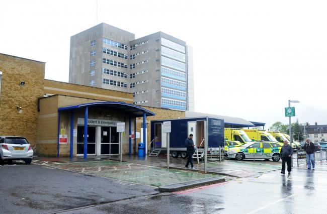 Not so clean - Southend Hospital has dropped in the ratings