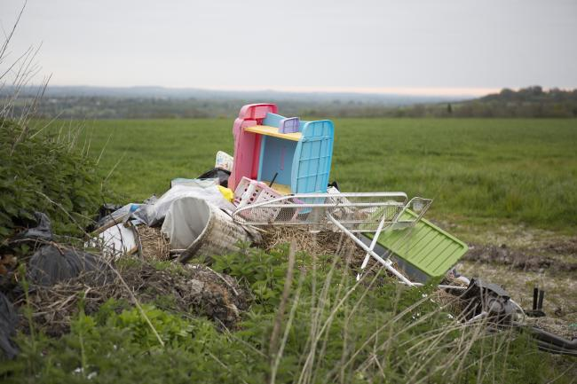 DUMPED WASTE: Flytipping is at its worst in the Braintree District