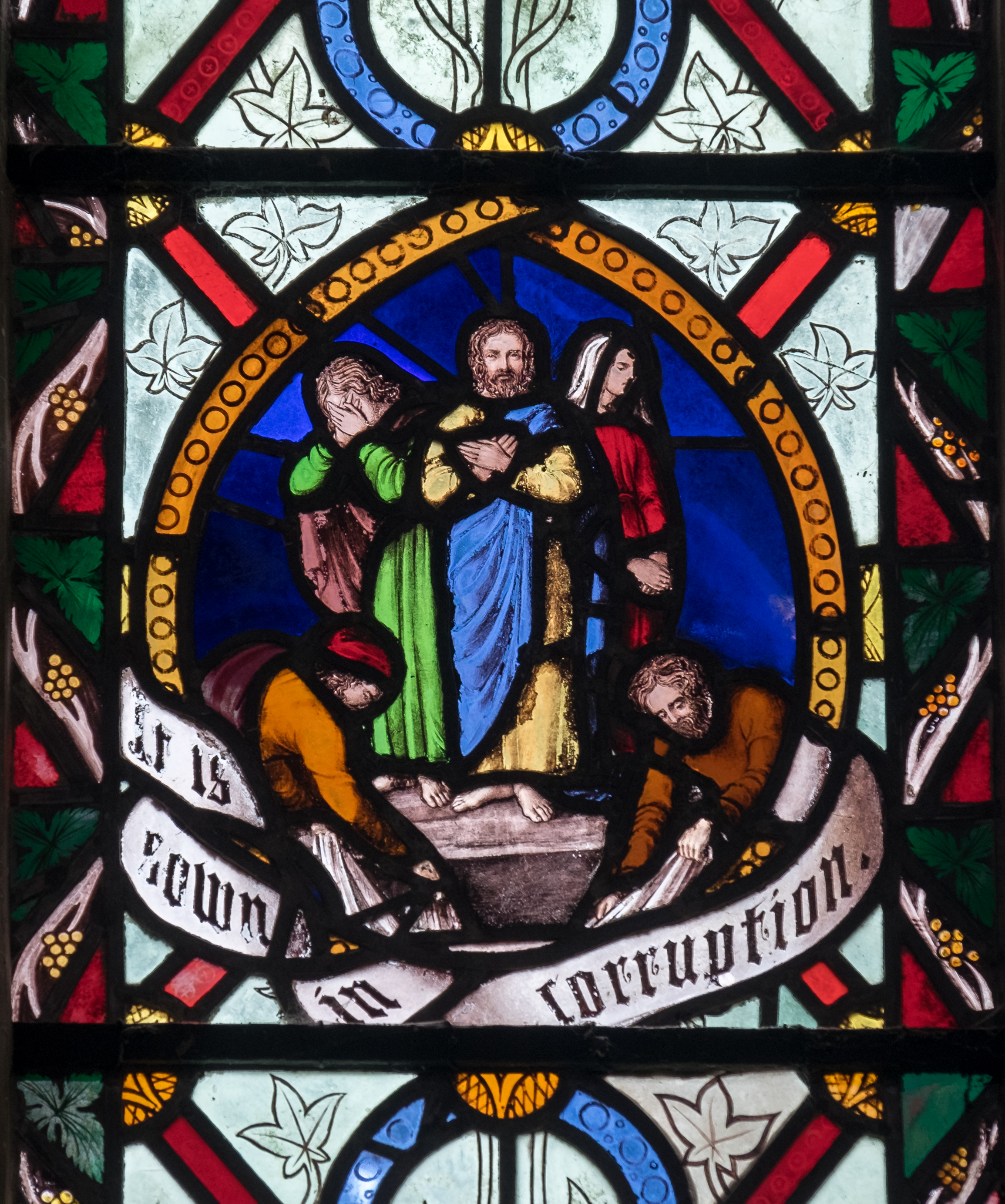 Stained Glass in Wigborough and other Local Churches