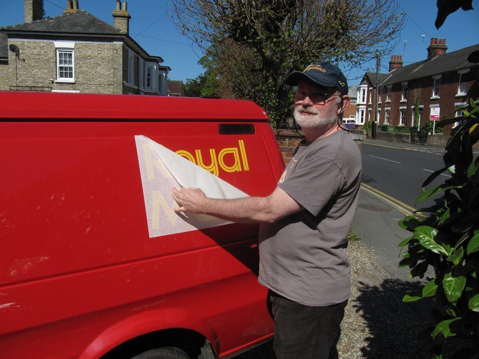 ba473e16ce New lease of life for vintage postal van destroyed by crooks in Co-op ram  raid