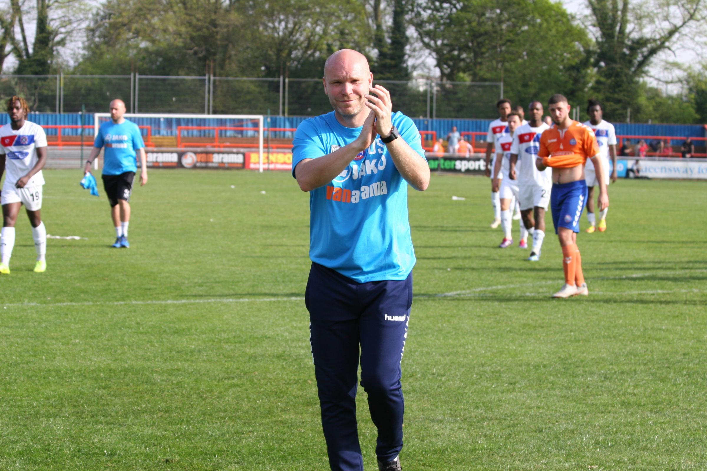 Braintree manager Danny Searle. Picture: Jon Weaver