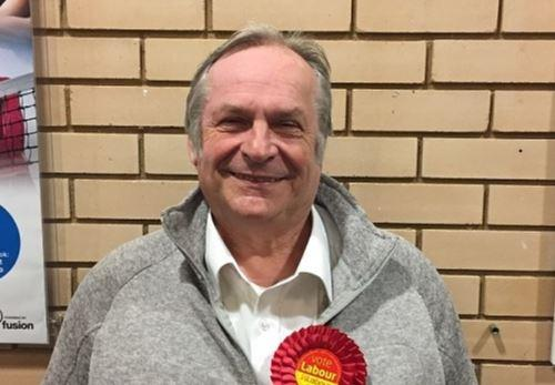 CANDIDATE: Phil Barlow was the Labour Party candidate for Witham Northern.