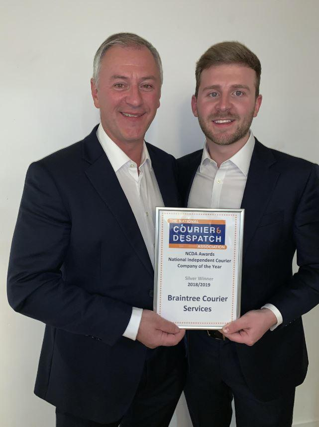 Braintree firm win courier of the year award | Braintree and Witham