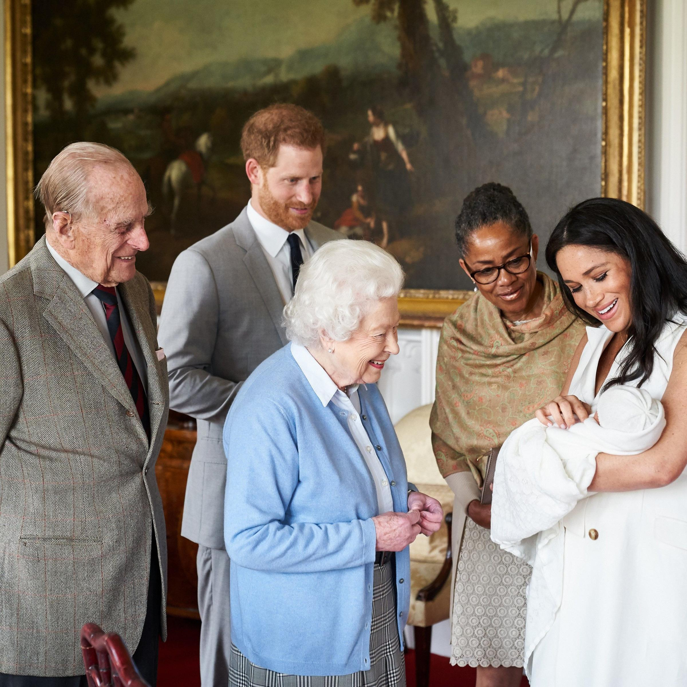 Royal family- photo by Chris Allerton/Sussex Royal