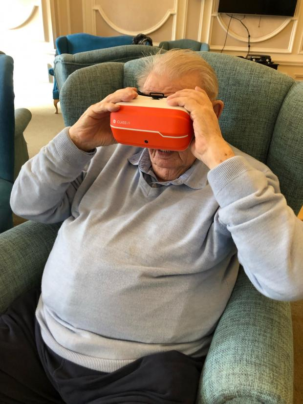 Braintree and Witham Times: Virtual reality: Resident Greg Wood