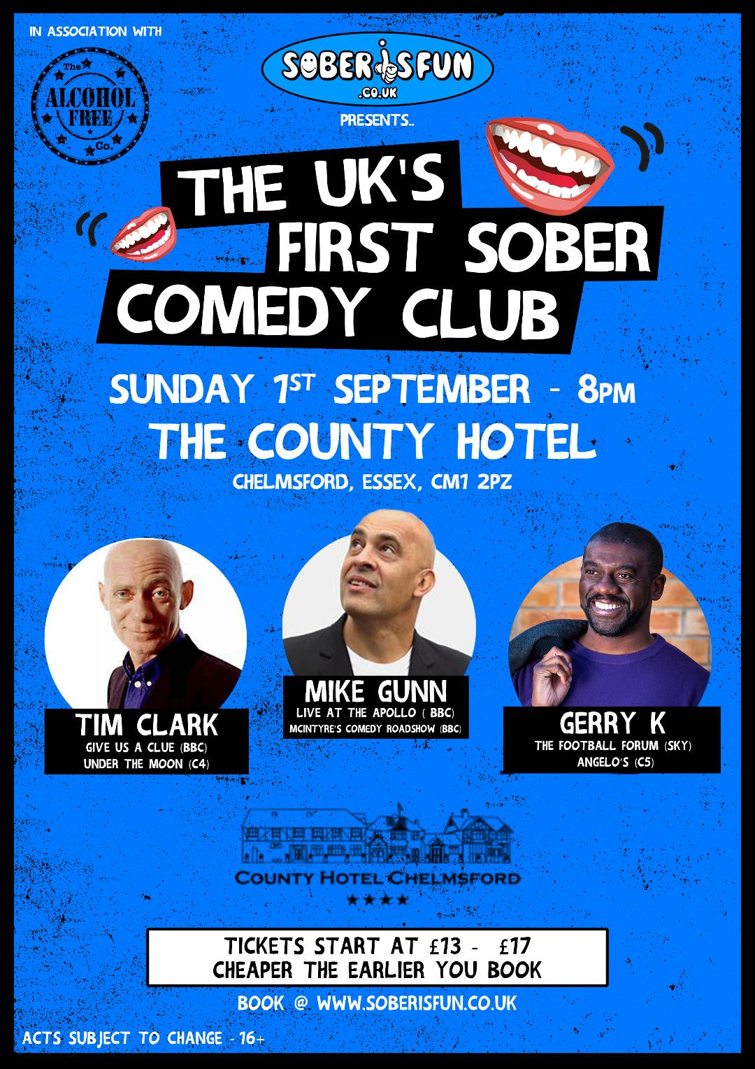 Sober IS Fun  Presents A Night of Stand - Up Comedy