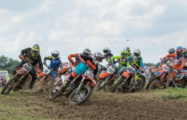 Action from the Allcomers race at last year's Jack Hubbard Trophy meeting, but the 2019 event has had to be cancelled. Picture: Paul H Payne