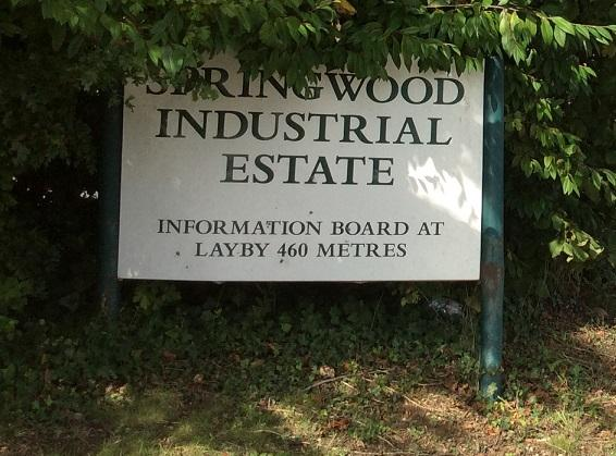 The incident happened at a firm on Springwood Industrial Estate in Braintree