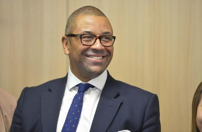 Braintree MP James Cleverly