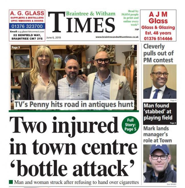 In this week's Braintree and Witham Times