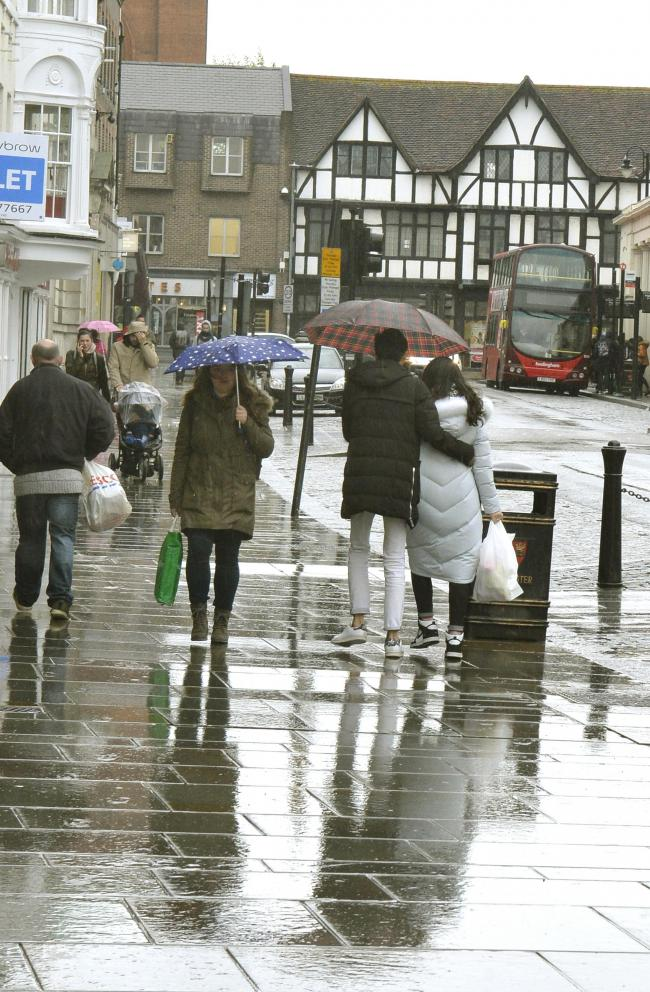 Rain - weather warnings have been issued