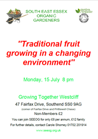 'Traditional fruit growing in a changing environment'